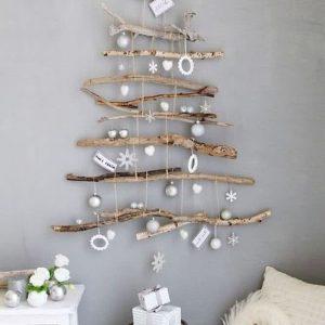 Árbol navideño minimalista