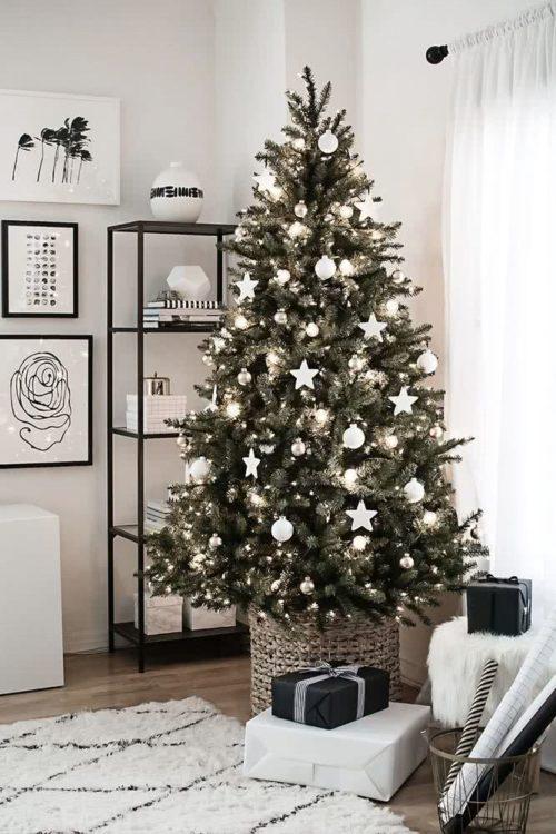 Árbol navideño tradicional