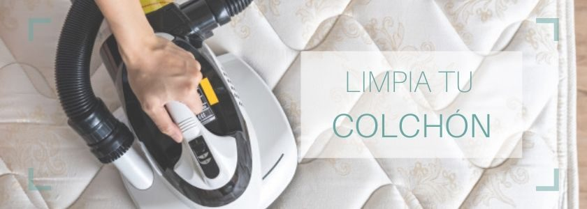 Una limpieza exhaustiva para tu colchón - Brillocor
